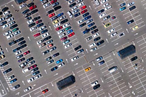 car park <br>line marking